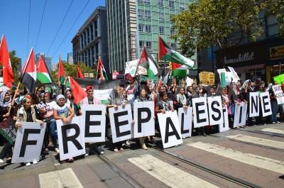 Anindita Saktiaji - Gaza Protest