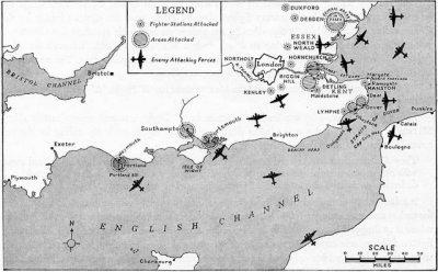 Rencana Jerman di Battle of Britain tahun 1940