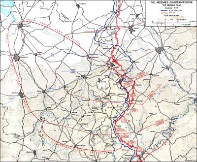Rencana Battle of Bulge 1944 - 1945 - Anterwepn Sebagai Sasaran Utamanya
