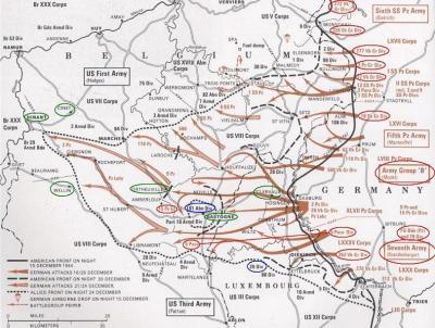 Realisasi Battle of Bulge 1944