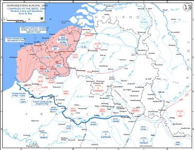 Pengepungan Dunkrik (Sumber : Wikipedia)