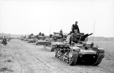 Formasi Divisi Panzer ke 6 Saat Penyerangan Perancis 1940