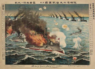 Salah Satu Illustrasi Perang Jepang Rusia (1905)