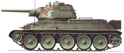 T 34 Dengan Meriam 76mm