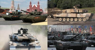 Leopard vs Armata