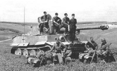 Tiger Tank Russia