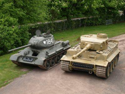 T-34 vs Tiger