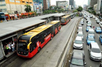 Kondisi Transportasi Umum DKI Jakarta